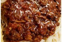 sphaghetti sauce