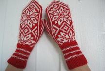 Scandi red and white