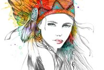 boho hippie gipsy style