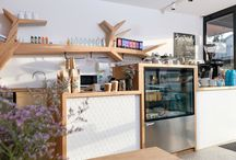 Shop and cafe fitout ideas / Using solid timber in commercial spaces.