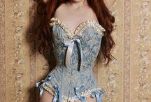 Redhead lingerie