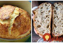 chleba pečený doma