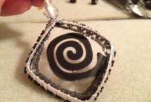 Wired Jewelry / Wired weaved or wired macrame. / by Classy Art Glass