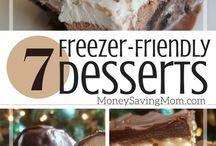 Desserts frozen