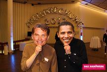 Handwerk macht glücklich - Obama & Hasselhoff waren auch dabei :-)