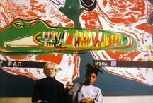 Baquiat @  Warhol
