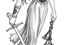 dama de la justícia