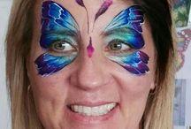 Maquillaje Artístico MARIPOSAS