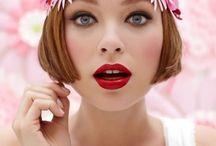 Body art and makeup cabello corto o plata