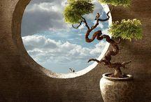 Fresque zen