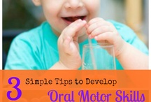 Oral Motor Skills/Activities / Occupational Therapy Ideas