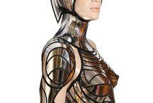 Future robot SciFi MU style
