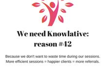 Knowlative: Collaborative Knowledge / A web based app for holistic health practitioners, making our work better through connecting and sharing information.