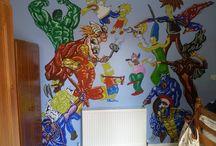 Murals / See my pretty wall art