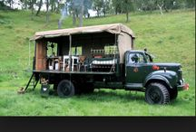 flatbed camping