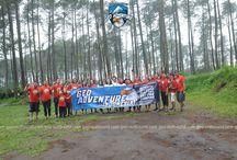 Employee gathering Winda and The company - Geo adventure lembang bandung