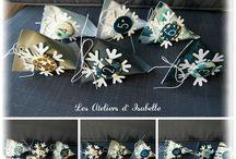 Boîtes cadeau / chocolats / Petites boîtes créées sur mesure pour offrir des chocolats, dragées, autres gourmandises, ou un petit cadeau (billet, bijou...)