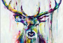 peinture animaux