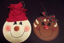 CD'S FOR CHRISTMAS DECOR