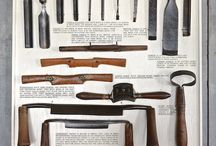 Skogshuset old tools