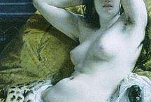 Cleopatre / Figure féminine la plus célèbre de l' Antiquité - devenue mythique par les innombrables représentations artistiques qu'elle suscita au cours des siècles.