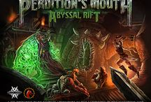 Perdition's Mouth Artwork (fantasy board game)
