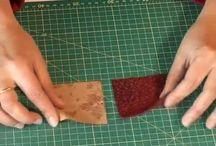 vidéo de patchwork