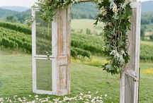 Wedding Ceremony- Rustic outdoors