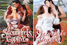 Recreated romance novel covers