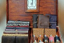 Handmade leather tobacco pouches, lighters cases, notebooks & Mobile Phone Cases / The careful handicraft and the genuine Greek leathers guarantee the quality of our products