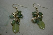 Gemstone Earrings / Handmade Semi-precious & Precious Gemstones made in either  14K Gold-filled, Sterling Silver or Solid 14K Gold