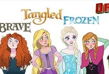 Non/Disney Crossovers / Love crossovers! Especially these ones! And mainly RotBTFD ;-)