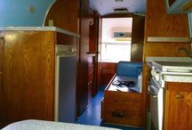 1961 Airstream Safari / 22 ft. Original interior