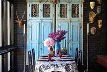 Old doors in interior design