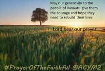 Prayers of the Faithful / Creating a resource for you to pray daily..