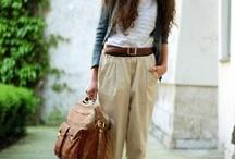 Style : tenues de tous les jours  / quelques idées pour s'habiller le matin et se sentir bien ...