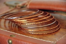 Thin Stackable Gold & Silver Bangles / Bracelets