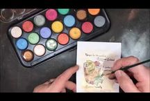 pearlescent watercolouring techniques