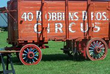 Circus Wagons / These are some of the wagons at the International Circus Hall of Fame and some that traveled around this country