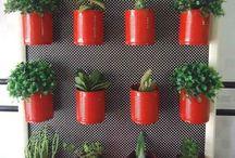 Vasos de lata