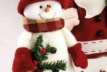 boneco de neve de roupa
