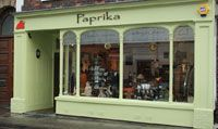 Our Shop! / Paprika is in the small Somerset town of Wellington - a popular destination for unusual, ethically sourced and fairly traded gifts, jewellery and homeware. It is our pride and joy!