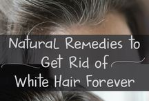 Get rid of white hair