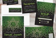 Cool Bar Mitzvah Invitations / A selection of cool Bar Mitzvah invitation designs. These cool Bar Mitzvah invitations are sure to impress your guests! And the Bar Mitzvah boy will be super happy as well! If you're looking for cool Bar Mitzvah invites, then you'll love this selected of curated Bar Mitzvah invitations.