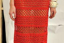 vestido crochê longo