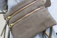 Leather Crossover bag