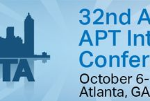 2015 APT  Conference / 32 Annual APT International Conference October 6-11, 2015 Atlanta, GA / by Pam Dyson