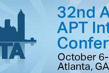 2015 APT  Conference / 32 Annual APT International Conference October 6-11, 2015 Atlanta, GA