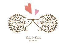 ježci zamilovaní