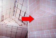 cómo limpiar azulejos en la ducha del baño...
